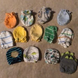 Other - Baby mittens- bundle of 13